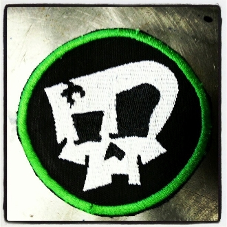 Zombie Performance Round Skull Patch