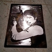 """SOLO"" Steel Wall Art"