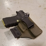 Holster IWB G19/23 w/CLAW & Optic Cut