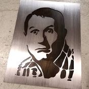 """BUNDY"" Steel Wall Art"