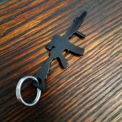"""MK18"" Key Chain Bottle Opener"